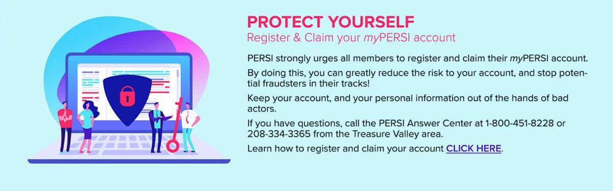 Register And Claim myPERSI