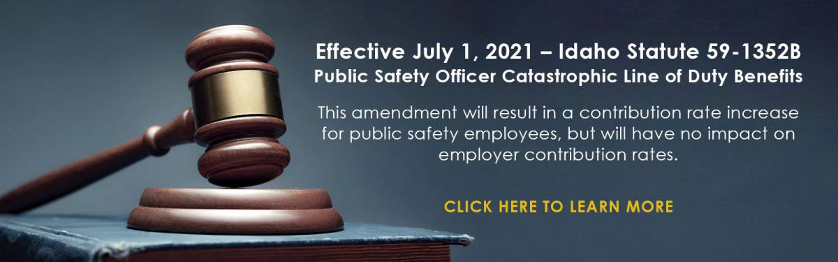 2021 Catastrophic Line of Duty And Rate Increase